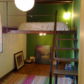 Rehabilitación de antiguos graneros. Dormitorio
