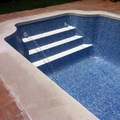 Rehabilitación piscina de fibra con lámina ALKORPLAN 3000