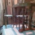 Reparación mesa y banquetas