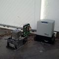 reparación, sustitución e instalación de motores para puertas