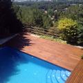 restauración tarima piscina