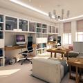 Sala de estudios y juego
