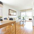 Salón tras intervención de Home Staging de bajo coste