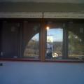 Salón vista exterior con mosquitera