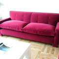 sofa asiento de muelles respaldo fijo