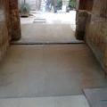 Substitución acometida agua y solar patio