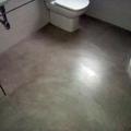 Suelo de baño microcemento