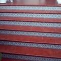 Suelo de gres y escaleras entrada principal