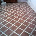 suelo rustico y marmol