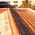 Sustitución de cubierta inclinada con estructura de madera y tejas cerámicas