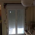 sustituir puertas de madera x aluminio.