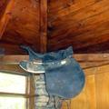 Techado de madera rústica restaurada