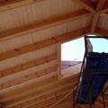 Techo de madera en Sotogrande