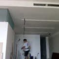 Techo de Pladur con detalle decorativo.