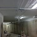 techo garaje pintado