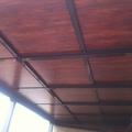 techo movil panel lacado madera