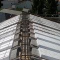tejado en contruccion