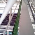 Tendido de canaleta y cable en la plaza de Toros de Vitoria