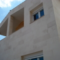 Terminación de vivienda en piedra