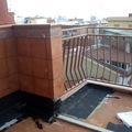 Terraza exterior piso