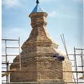 Torre de La iglesia ya acabada