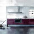 Toscana rechapado esmeralda combinado con vitrinas de aluminio plus 4