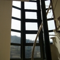 Ventanal para hueco de escalera