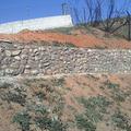 Vista frontal del yagueado