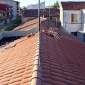 Vista parcial del tejado terminado II