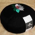 zafu flor de loto bordado