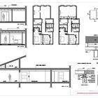 Planos detalle, secciones y plantas