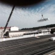 instalacion de cubierta de 5000 m2 Ferreteria J.Villaverde o.milladoiro A coruña