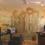 Empresas Diseño de Interiores - mural x 3, acabados artísticos de paredes