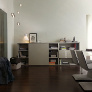 estudio show-room contemporanea interiorismo