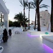 fantastica terraza en discoteca de gandia
