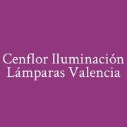 Logo Cenflor Iluminación Lámparas Valencia