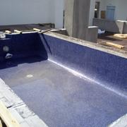 piscina en una terraza