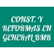 Construcciones y Reformas En General BMB