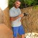 Instalación de focos en jardineras