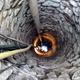 Limpieza y mantenimiento de pozo muy antiguo