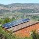 Aislada energía solar cubierta