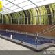 Cubierta de piscina modelo Archery adosada