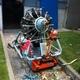 Motor de avión de 8 cilindros