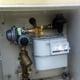 Armario de contador de gas