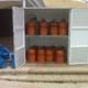 Bateria de botellas propano
