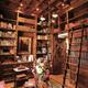 Biblioteca madera  a medida