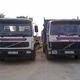 Camiones con contenedores