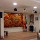 Casa cultural de Extremadura Tablao ( Pilares y doble falso techo)