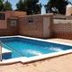Chalet de L'Eliana, construcción de piscina