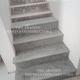 Colocación en escaleras peldaños de Mármol